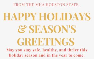 Happy Holidays & Season's Greetings!